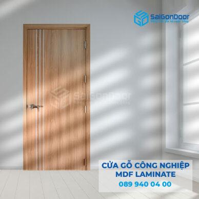 Báo giá cửa gỗ công nghiệp MDF Laminate